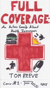 2015-10-31: My first of three hand drawn concept covers that I used for my first beta test. The First Aid cross and cheeseburger wound up coming back.